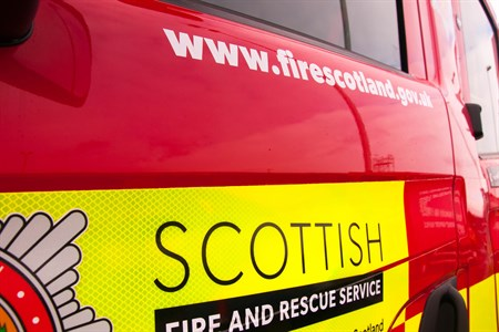 Fatal fire in Cumbernauld and two further people were taken to hospital after house fire at Inchwood Court
