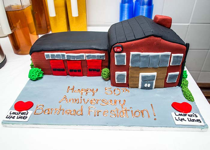 Barrhead Fire Station marks 50th anniversary