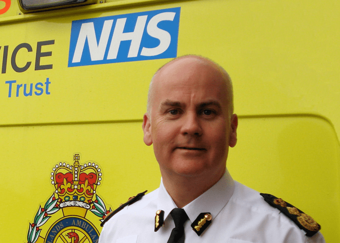 Ambulance Chief backs AMBITION 2015 event