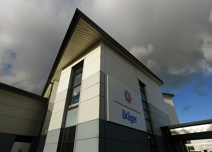 Fire Service College launches new breathing apparatus training school in partnership with Dräger