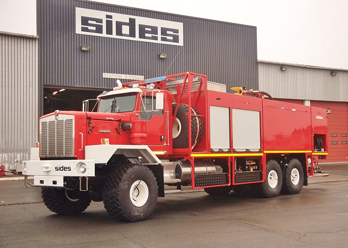 New fire-fighting vehicles destined for Libya