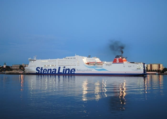 The world's first ship with fire safety adapted to Methanol