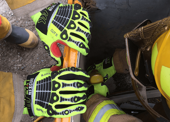 EXT Rescue Gloves provide comfort and safety