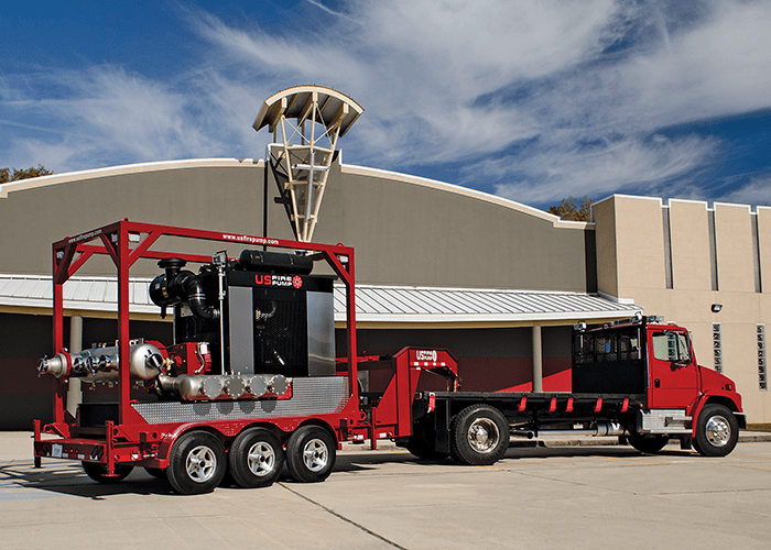 US Fire Pump - The Next Generation of Industrial Fire Pumps