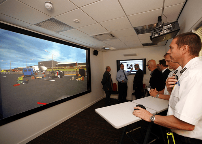 Cheshire Fire and Rescue Service's incident command training suite wins national award