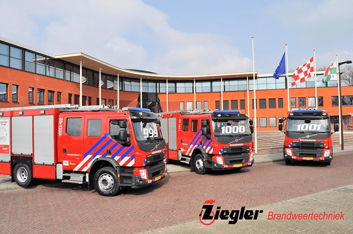 Ziegler Brandweertechniek delivers 1000th Fire Engine