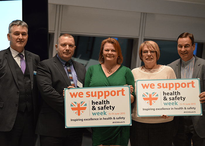 Industry unites to launch Health and Safety Week 2015