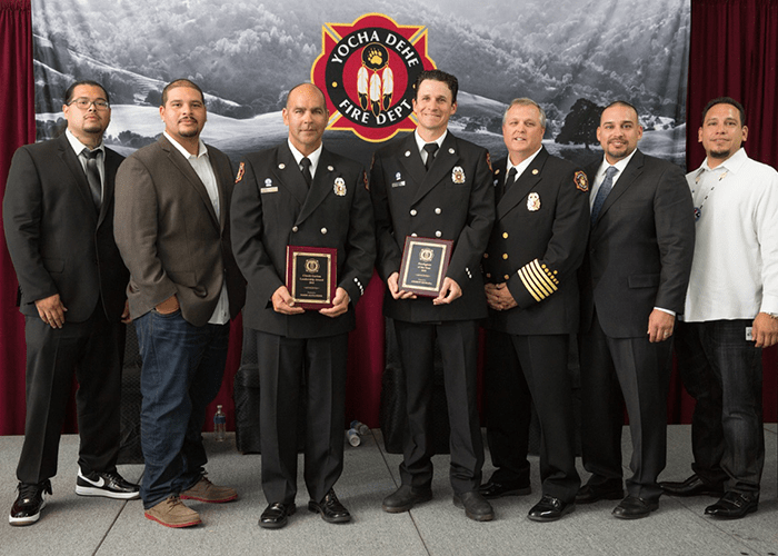 Yocha Dehe Fire Department Presents Annual Awards - IFF Magazine