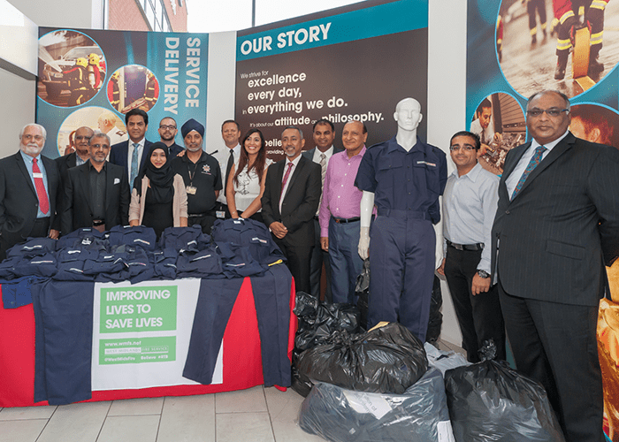 Fire cadets in Punjab are set to benefit from a link-up between West Midlands Fire Service (WMFS) and the Asian Fire Service Association (AFSA).