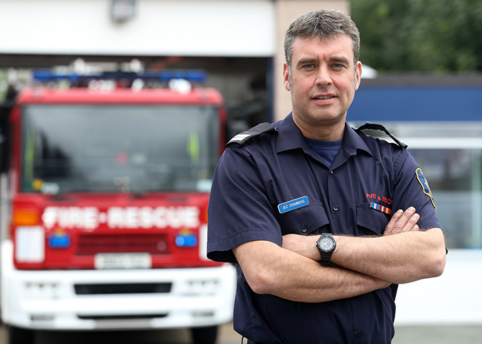 Dyslexia is a Gift says Shropshire Firefighter 14