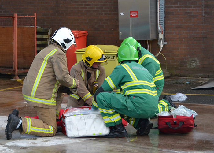 National trial sees firefighters respond to out of hospital cardiac arrests