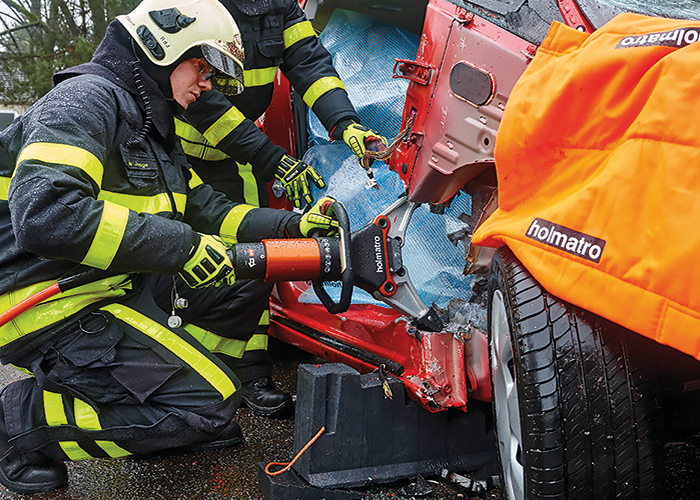 The newest spreaders used for vehicle extrication are lighter and more powerful than ever.