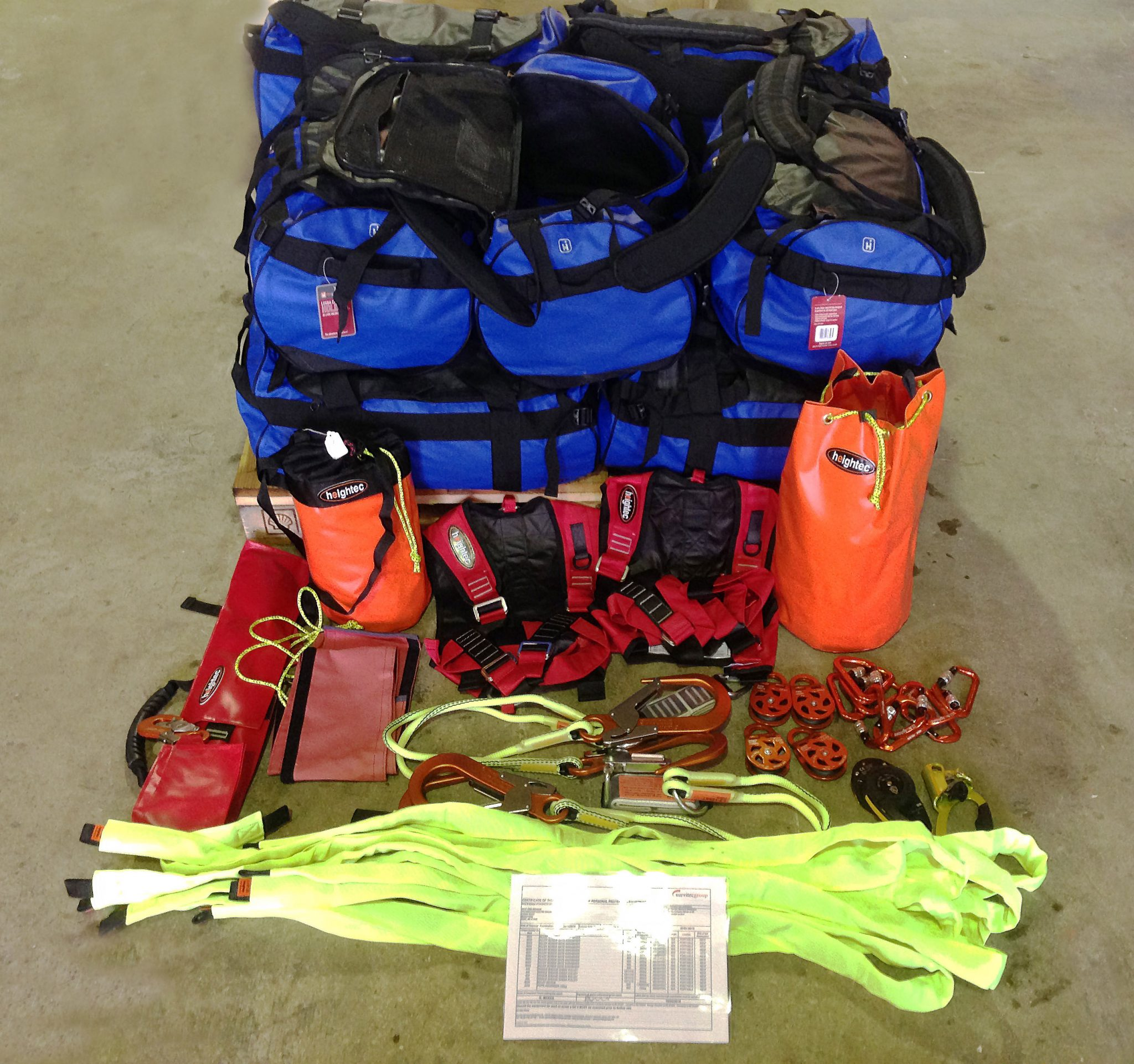 Survitec has supplied bespoke packs of safe access equipment to Kent FRS for use by fire crew when working at height.