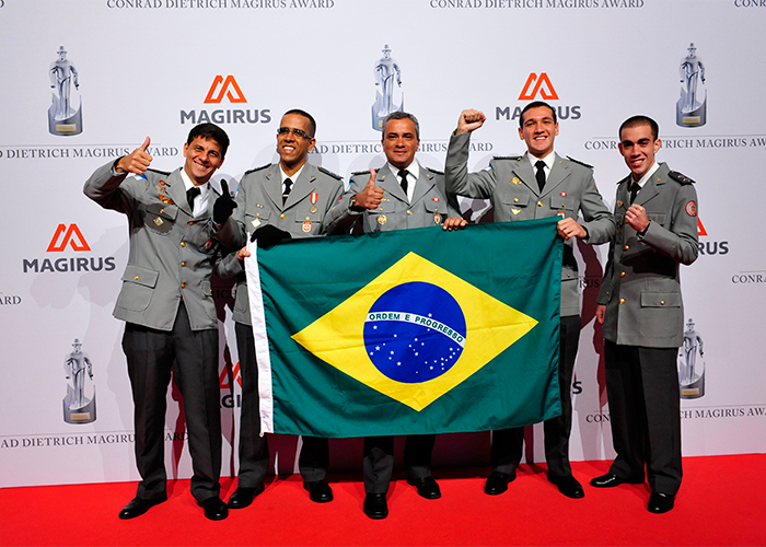 "Brazil defends its title of ""International Fire Department of the Year"""