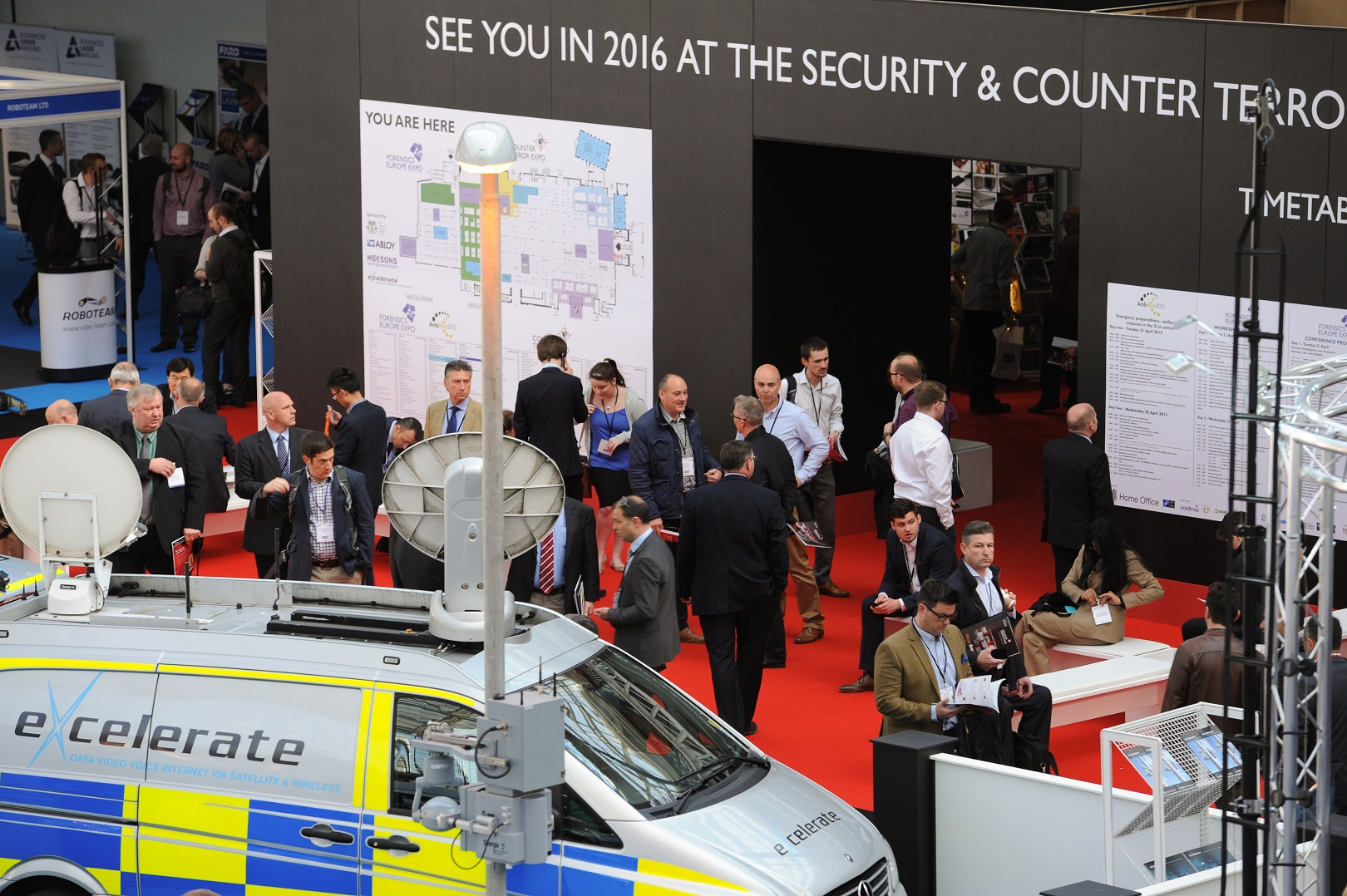 Critical National Infrastructure and Business Resilience top of the agenda at Security and Counter Terror Expo 2016