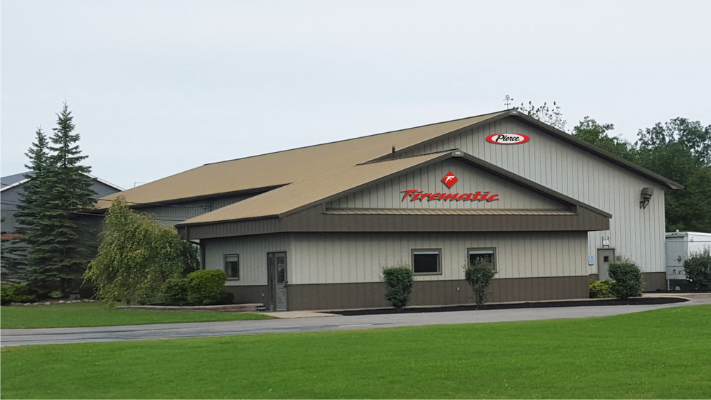 Pierce Dealer, Firematic Supply Company, Opens New Service Facility in Upstate New York.
