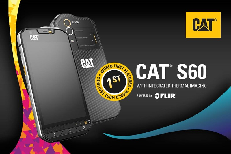 CAT® S60 Announced as World's First Smartphone with Integrated Thermal Camera