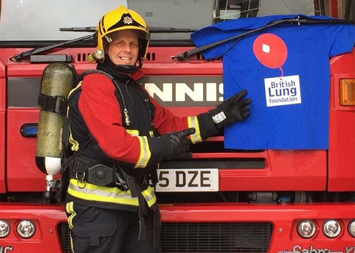 Firefighter set to run for charity – in full fire kit!