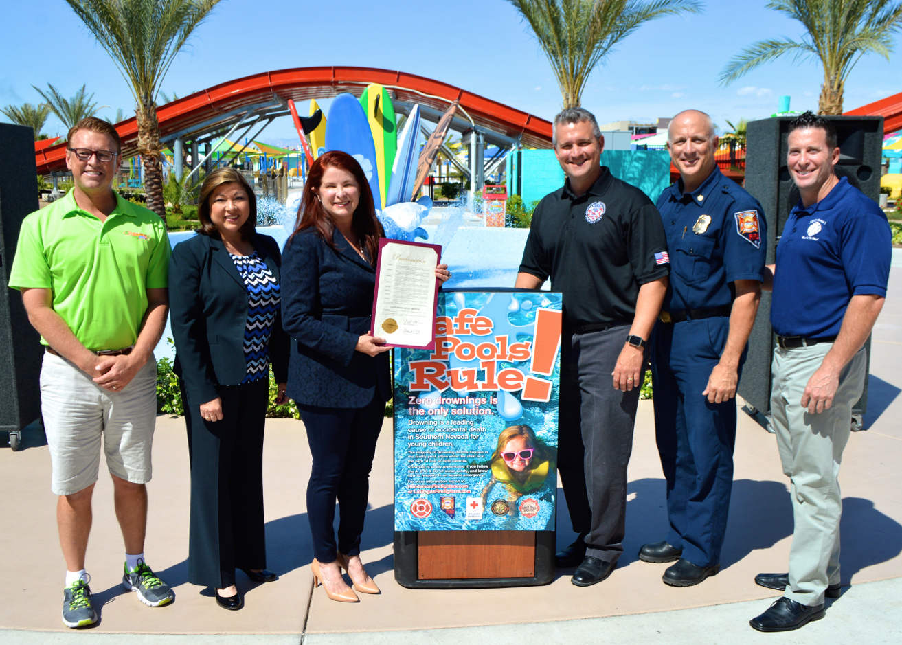 Zero Drownings is the Mission for Las Vegas and Henderson FirefightersZero Drownings is the Mission for Las Vegas and Henderson Firefighters