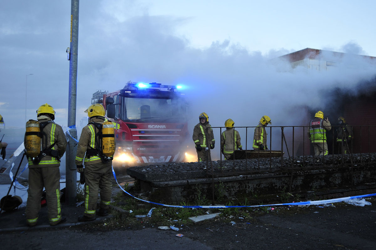 Image courtesy of Scottish Fire and Rescue Service (SFRS)