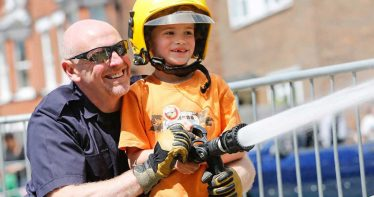 Herne Bay fire station opens up for a 'Family Day'
