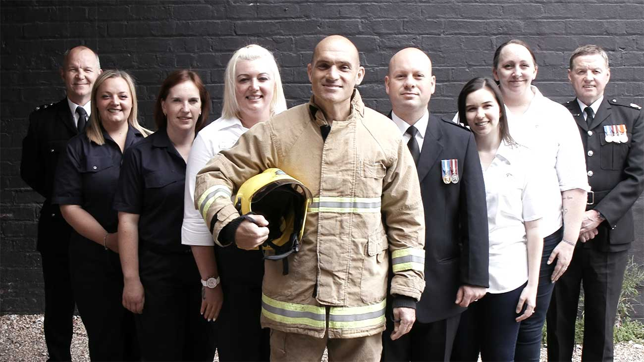 Cheshire Fire Choir Targets No.1 With Debut Single