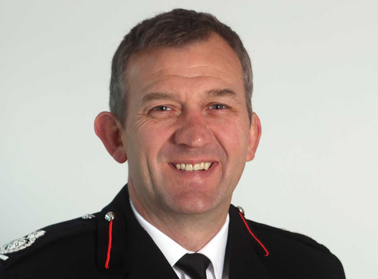 Shropshire's newly appointed Chief Fire Officer Rod Hammerton
