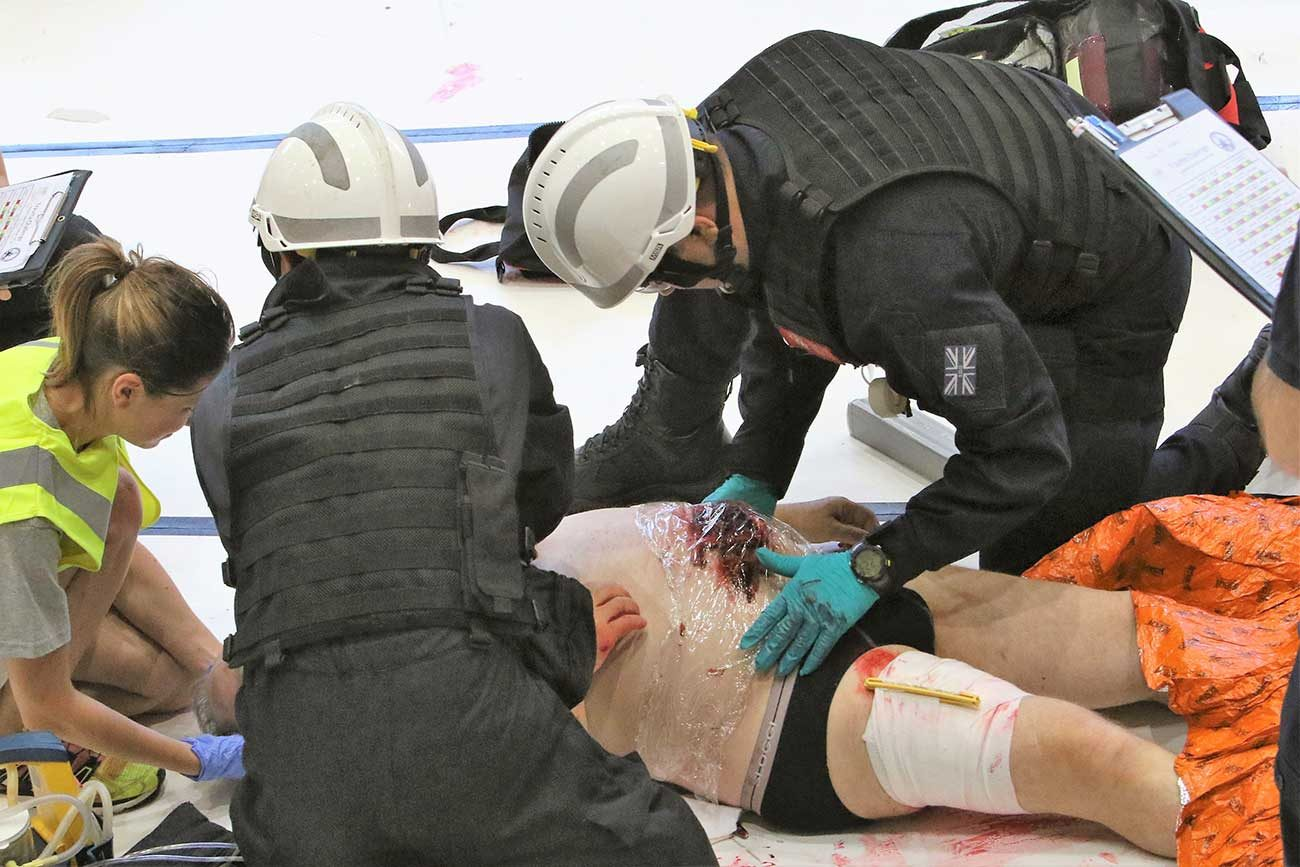 World's top firefighters go for gold at rescue 'Olympics'