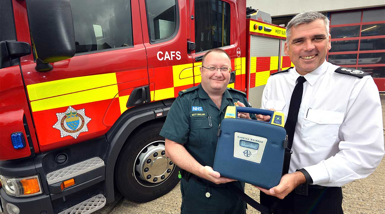 West Sussex Fire & Rescue Service to begin co-responding