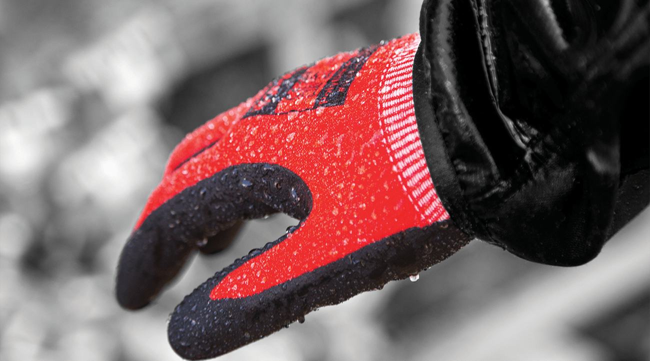 Polyco is home and dry with new water-resistant gloves range