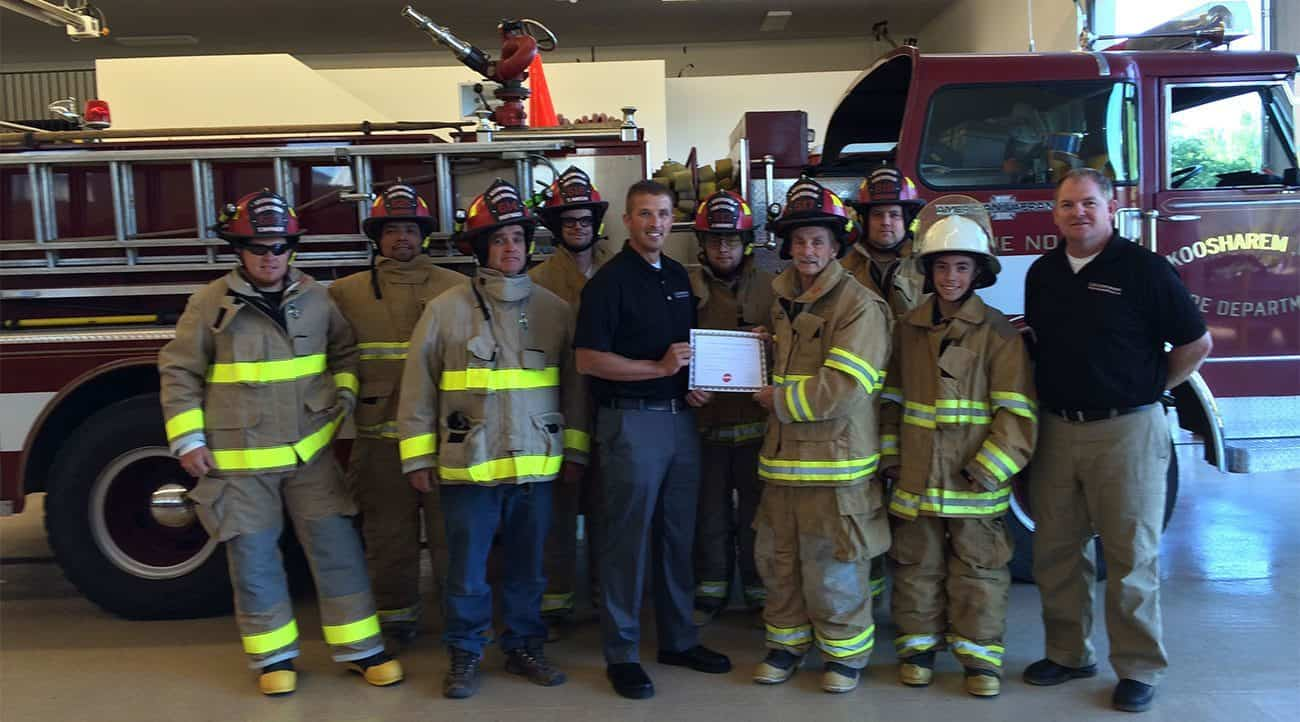 The Franklin Township VFD in New Jersey was among the recipients in the 2016 Globe Gear Giveaway.