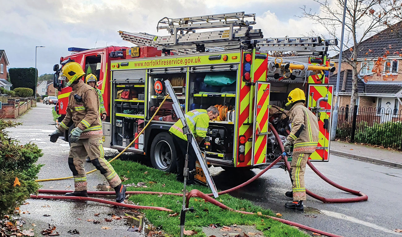Emergency-service workers in Norfolk frequently deal with incidents in rural areas, meaning quick and effective response is vital.
