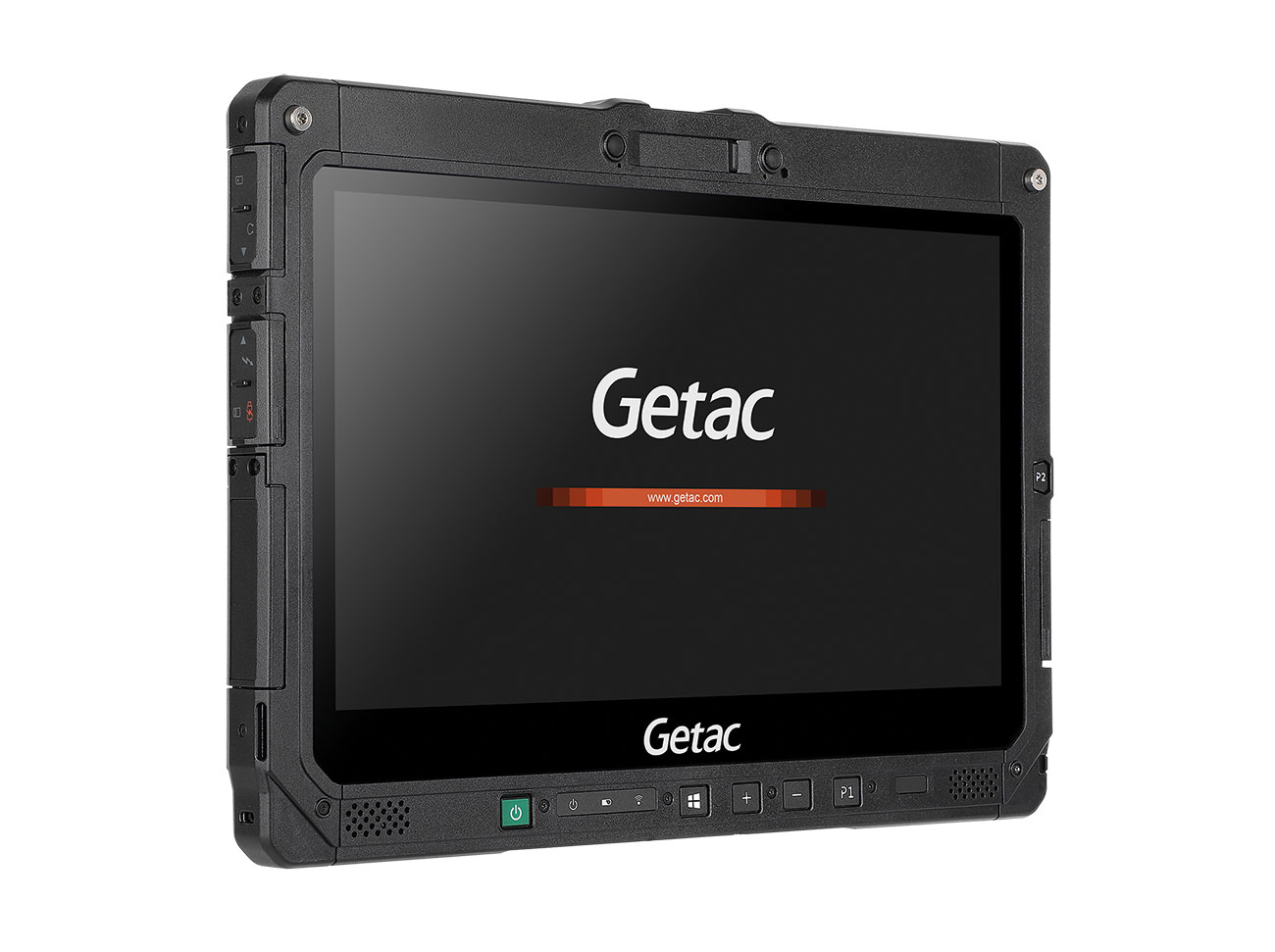 The Getac K120 rugged tablet is used for vital fire safety and critical awareness data.